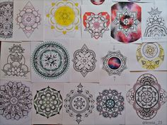 #mandalas by drawingsbylenna23