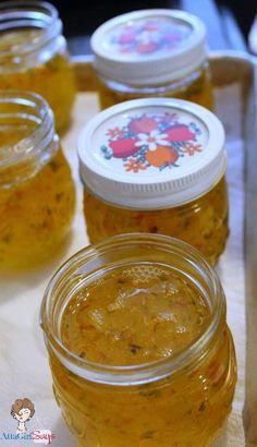Atta Girl Says: Homemade Pepper Jelly Recipe - using white vinegar