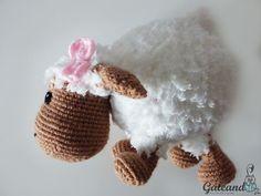 Gateando Crochet: Patrón Oveja Amigurumi / Sheep Amigurumi Pattern