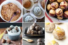 Nut free bliss balls from Robyn at Modern Day Missus