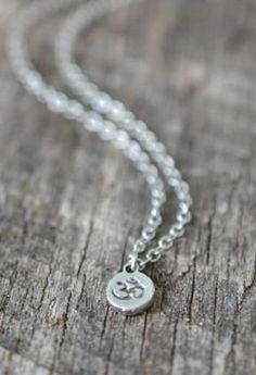 Dainty Om Symbol Necklace - Livin' Freely  - 1