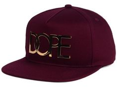 size 40 8eb69 763f6 Dope Dope 24K Gold Snapback Hat King Hat, Hats For Big Heads, Gold Hats