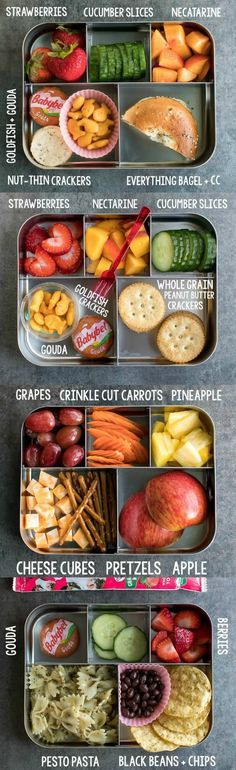 Easy Lunch Ideas for Kindergarten #lunchbox #bento #lunch
