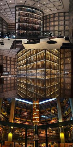 The Beinecke Rare Book and Manuscript Library, Yale  |  Gordon Bunshaft