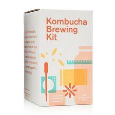 GIFT-FEED: Kombucha Starter Kit Brew Kombucha At Home Starter Kit Kombucha Starter, Organic Kombucha, How To Brew Kombucha, Home Brewing, Beer Brewing, Kombucha Culture, Organic Loose Leaf Tea, Brew Your Own, Pumpkin Spice Coffee