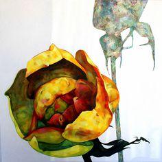 Marjut Siro, Tinasotilaan vaimo 2015, akryyli kankaalle 100 cm x 100 cm Rose Buds, Paintings, Art, Art Background, Paint, Painting Art, Kunst, Performing Arts, Painting