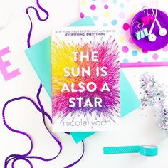Morning all! I took this photo for a blog post but I love how it turned out and thought Id share it on Insta as well. Do you have a favourite book by Nicola Yoon? Im hoping to start reading The Sun Is Also A Star this weekend!    #bookstagram #bookstagrammer #instabook #bookish #ireadya #bookworm #readersofig #flatlay #fiction #bibliophile #ya #literature #ukya #bookoftheday #blogger #nicolayoon #thesunisalsoastar #everythingeverything #bookreview #blogpost  #brightbooks #bookishrainbow…