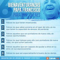 6 Bienaventuranzas del Papa Francisco para poner en práctica.