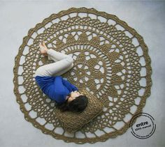 BIG scale handmade crochet rug, ENTRE collection - design N 001, born December 2012, by the hands of ARTSPAZIOS