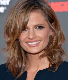 """Stana Katic described her role in punk rock movie """"CBGB,"""" hints at a """"Castle"""" Season 6 move, and reveals something unexpected about Nathan Fillion's role in """"Monsters University."""""""