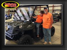 Thank you Joshua and Miles Fountain from Richton MS for getting a 2017 Polaris Ranger 570 #polaris
