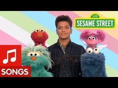 This is a sweet song from Sesame Street encouraging kids to keep on trying: Bruno Mars -  Don't Give Up - YouTube