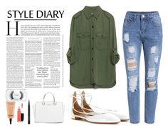 """Street Style 2#"" by march-d-la-march on Polyvore featuring moda, Zara, Aquazzura, Michael Kors y MAC Cosmetics"