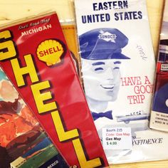 Map Gas, Shell Gas Station, Road Maps, American Pickers, Travel Maps, App Store, Vacation Trips, Attic, Marathon