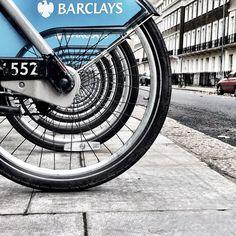 Very nice photo of the Boris bikes