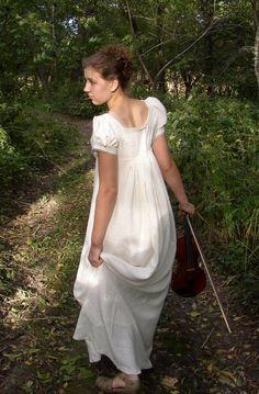 Regency Graduation Gown    Sense & Sensibility Patterns