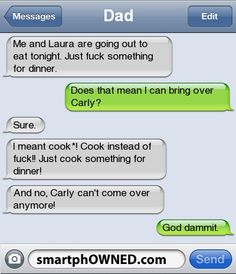[Connect to Facebook to view this post] - - Autocorrect Fails and Funny Text Messages - SmartphOWNED
