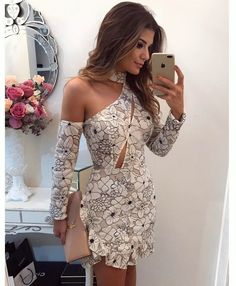 Really sweet dress Grad Dresses, Sexy Dresses, Cute Dresses, Beautiful Dresses, Short Dresses, Fashion Dresses, Elegante Shorts, Chic Outfits, Spring Outfits
