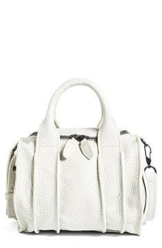 Alexander Wang 'Rockie - Inside Out' Leather Satchel available at #Nordstrom