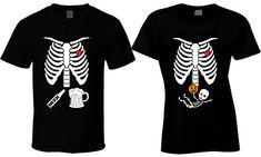 Halloween T Shirt Maternity T-shirts Matching Couples Shirt Pregnant Skeleton Shirt Pregnancy Announcement Best selling items mother to be affiliate link Halloween Pregnancy Shirt, Halloween Pregnancy Announcement, Pregnant Halloween Costumes, Pregnancy Shirts, Pregnancy Tips, Maternity Shirts, Matching Couple Shirts, Couple Tshirts, Matching Couples