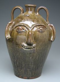 Burlon Craig was the master of the simple, direct, and subtle face jug