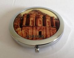 Vintage Compact Mirror. Featuring Jordan. Quite unusual.