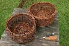 Weave a wicker basket