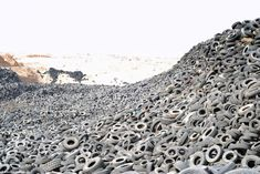 Enormous Tire Graveyard in Kuwait