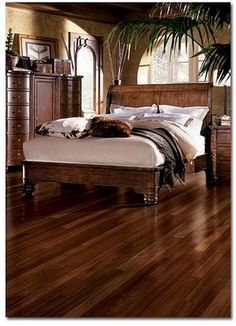 Love the wood floor