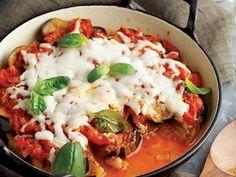 Peynirli ve domatesli patlıcan yemeği  Tarifi - Türk Mutfağı Yemekleri - Yemek Tarifleri