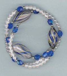 Blown Glass BraceletBlown Glass Bracelet