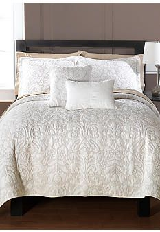 Hotel by Biltmore® Acanthus Coverlet Collection. My favorite coverlet.  I have washed and bleached the hell out of it.  Now its time to replace it but cannot find another.
