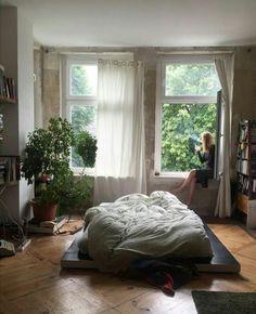 69 New Ideas Bedroom Goals Dream Rooms Plants Bedroom Inspo, Bedroom Decor, Bedroom Plants, Design Bedroom, Room Goals, Dream Apartment, Aesthetic Bedroom, Dream Rooms, Dream Bedroom