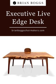 This custom desk inspires all that you do, whether working from home or in a highly visible office space. The walnut base supports a four-way match of beautifully burled maple. Special touches such as burled maple on the interior of the drawers add a unique elegance to your working environment. #desk #furniture #home #homedecor #decor #executivedesk #brianboggs #woodworking Custom Desk, Handmade Table, Study Desk, Wooden Desk, Office Ideas, Drawers, Environment, Woodworking, Base