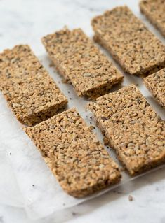 Thermomix Processed Sugar Free Granola Bars - I use honey as the sweetener not the agave Coconut Syrup, Coconut Oatmeal, Coconut Oil, Sugar Free Granola, Processed Sugar, Honey And Cinnamon, Granola Bars, Low Sugar, Healthy Snacks