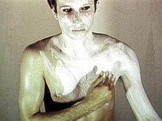 Bruce Nauman Art Make-up No. 1: White (Detail), 1967-1968