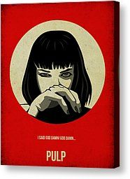 Pulp Fiction Poster by Irina March