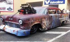 55 Chevy doorslammer