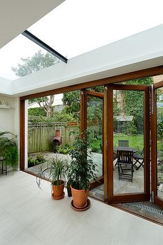 Home Building Design, House Design, Patio Balcony Ideas, Hut House, Door Gate Design, Open Plan Kitchen Living Room, Outside Room, Outdoor Living Rooms, Cottage Renovation
