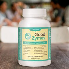 Digestion not working so smoothly? Take back the good times with all-new Good Zymes.