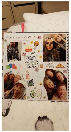 Best Friend Book, Diy Best Friend Gifts, Cute Gifts For Friends, Bff Gifts, School Scrapbook, Birthday Scrapbook, Scrapbook Journal, Birthday Gifts For Best Friend, Friend Birthday Gifts