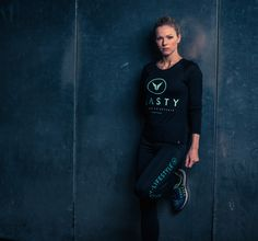 Long Sleeve Stacked Corporate Top by Nasty Lifestyle. Get yours today! Crossfit Clothes, Fitness Apparel, Leather Pants, Women Wear, Spring Summer, Gym, Running, Lifestyle, Long Sleeve