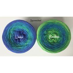 Color games Unikat LACE * Spurwechsel * KnallFrosch - 900m 50% Cotton/50 % Acrylic