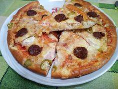 Διατροφή και νέα ζωή ( Δίαιτα των 3 φάσεων ): Πίτσα με μιξ! Για 1η συνεχιζόμενη και 2η φάση Vegetable Pizza, Keto Recipes, Pancakes, Vegetables, Breakfast, Food, Morning Coffee, Pancake, Veggies