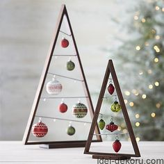 DIY Christmas Tree Crafts Ideas Source by giselabohnke Christmas Tree Crafts, Wooden Christmas Trees, Noel Christmas, Modern Christmas, Christmas Balls, Christmas Projects, Beautiful Christmas, Holiday Crafts, Christmas Ornaments