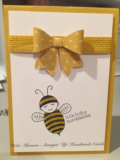 Baby bumble bee stampinup