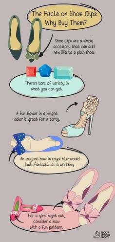 Have you ever wondered why people buy shoe clips?! Then check out this quick infographic. #bootmoodfoot #shoeclips Shoe Clips, Why People, Buy Shoes, New Life, Infographic, Facts, Mood, Learning, Check