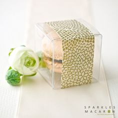 Handmade Paper Banner Macaron Favor (S) — Set of 30 — by Sparkles Macaron