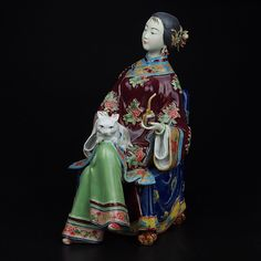 Find More Pottery & Enamel Information about New Painted Porcelain Figurine Antique Ceramic Statue Lady Art & Collectible Home Furnishing Collection Handicraft Ornament Dame,High Quality handicraft shoes,China handicraft gift Suppliers, Cheap handicraft accessories from Handicraftsman on Aliexpress.com