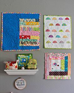 sewing room, wall decor / darci of stitches & scissors.